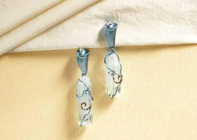 dubhe - aquamarine earrings pic4