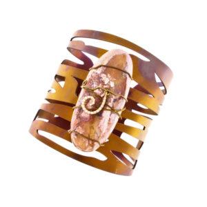 dubhe - fire opal bracelet pic1