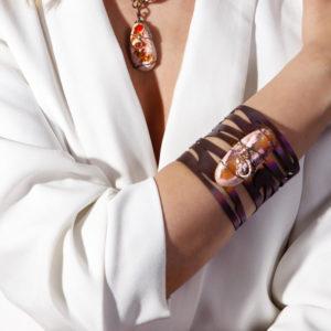 dubhe - fire opal bracelet pic3