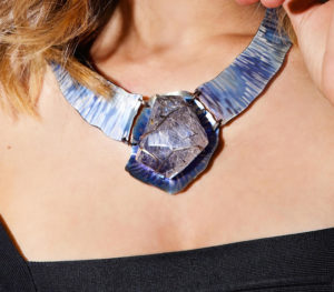 dubhe – tourmalinated quartz necklace pic3