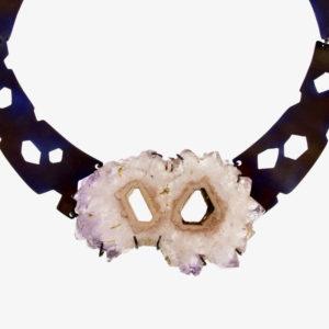 merak - amethyst necklace pic2
