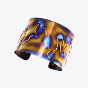 merak - gold wire bracelet pic2