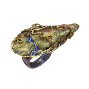 mizar - chalcopyrite ring pic1