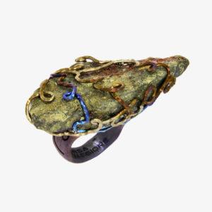 mizar - chalcopyrite ring pic2
