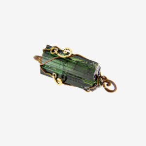 dubhe - green tourmaline pendant pic2