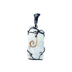 merak - aquamarine pendant pic1