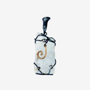 merak - aquamarine pendant pic2