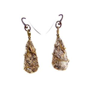 merak - astrophylite earrings pic1