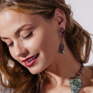 merak - astrophylite earrings pic3