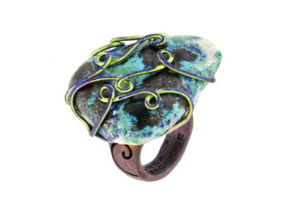 merak - chrysocolla ring pic1