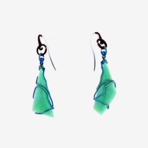 merak - chrysoprase earrings pic2