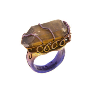 merak - citrine quartz ring pic1