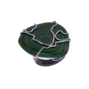 merak - malachite ring pic1