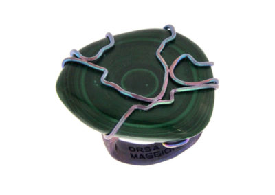 merak - malachite ring pic1