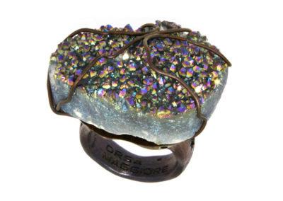 mizar - aqua aura quartz ring pic1