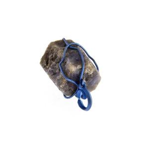 mizar - blue sapphire pendant pic1