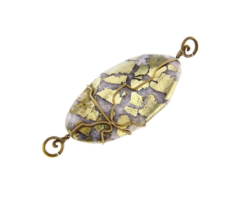chalcopyrite pendant